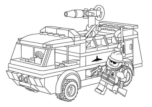 33 Free Printable Lego Coloring Pages