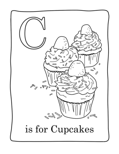 C For Cupcake