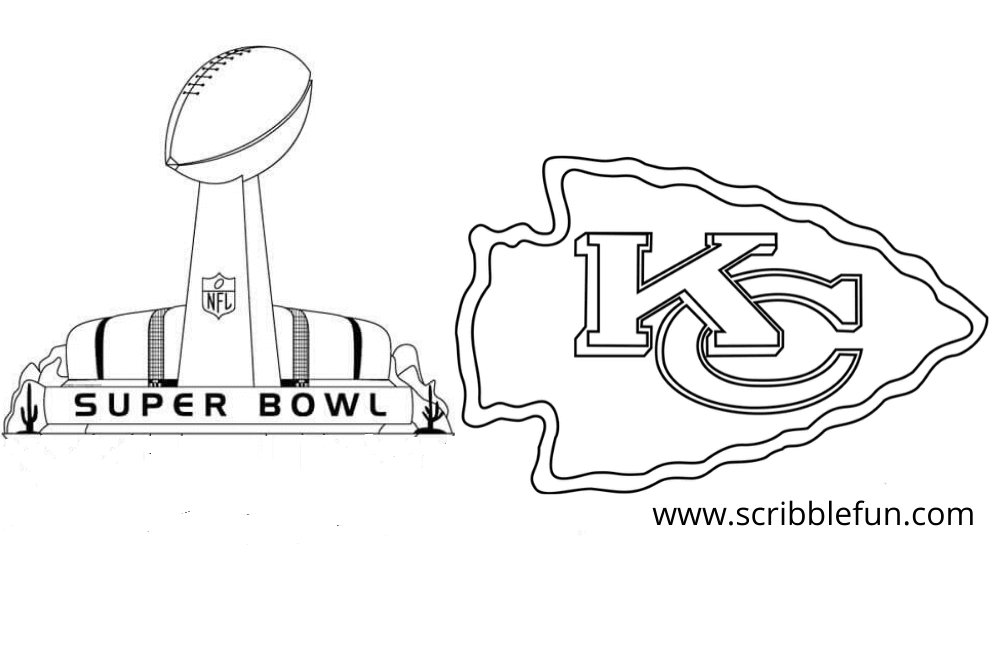 Chiefs Super Bowl Coloring Page