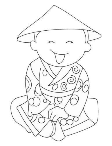 Chinese New Year Coloring Pictures