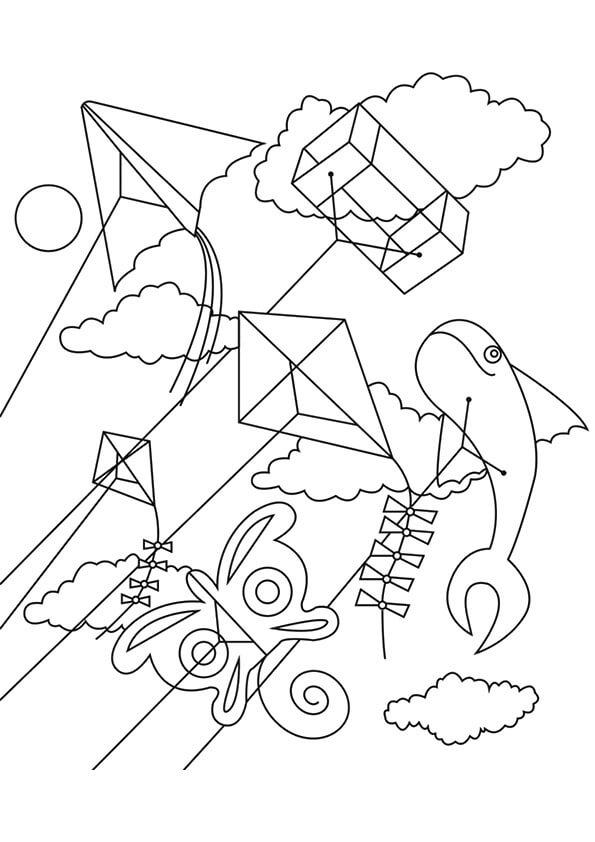 Chinese New Year Kites