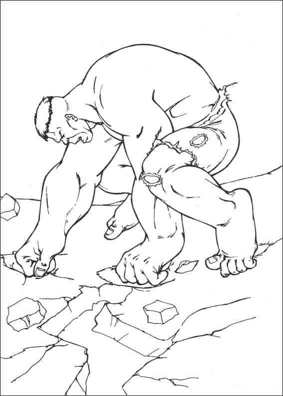 Hulk Coloring Page