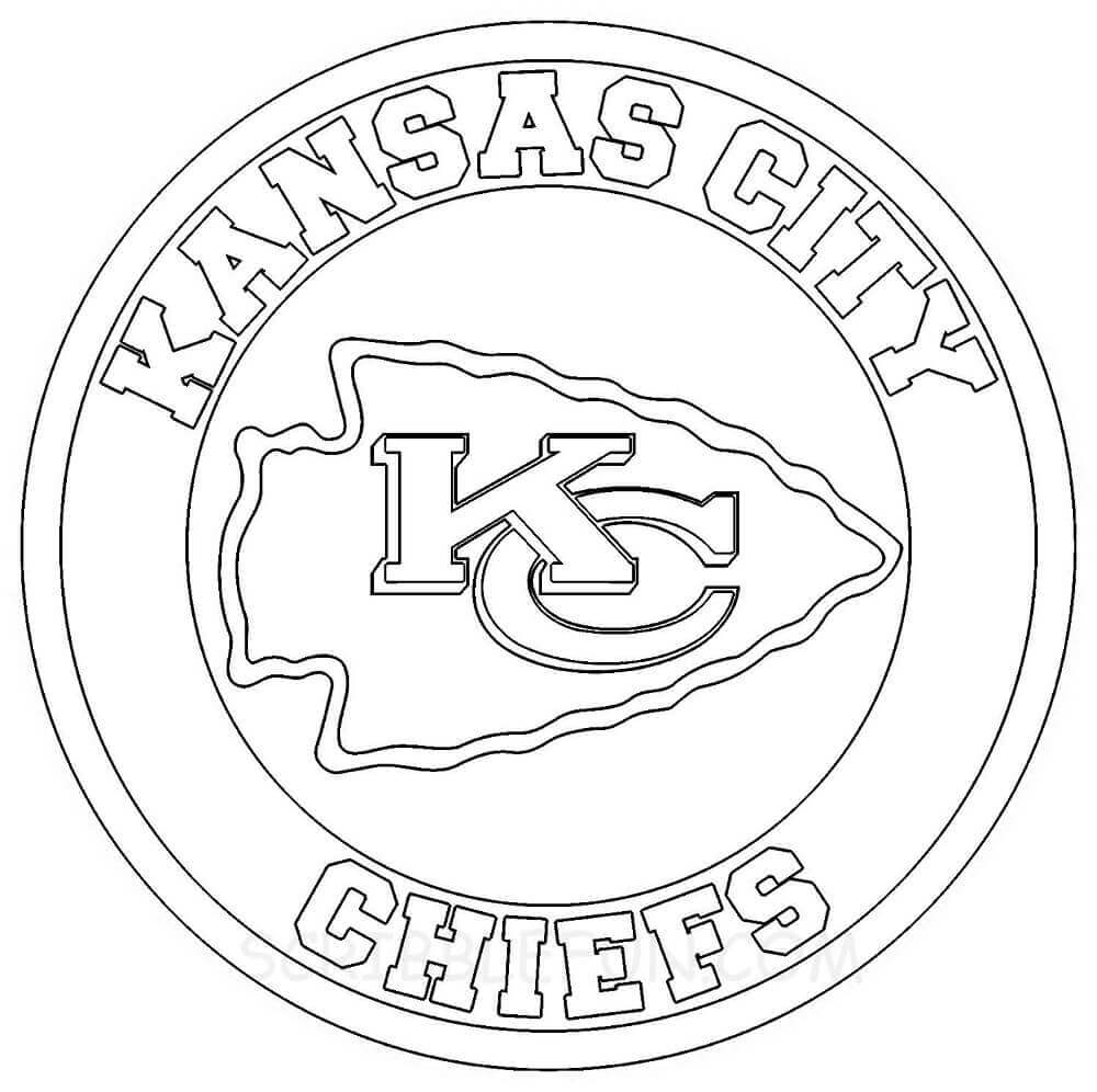 KC Chiefs coloring pages printable
