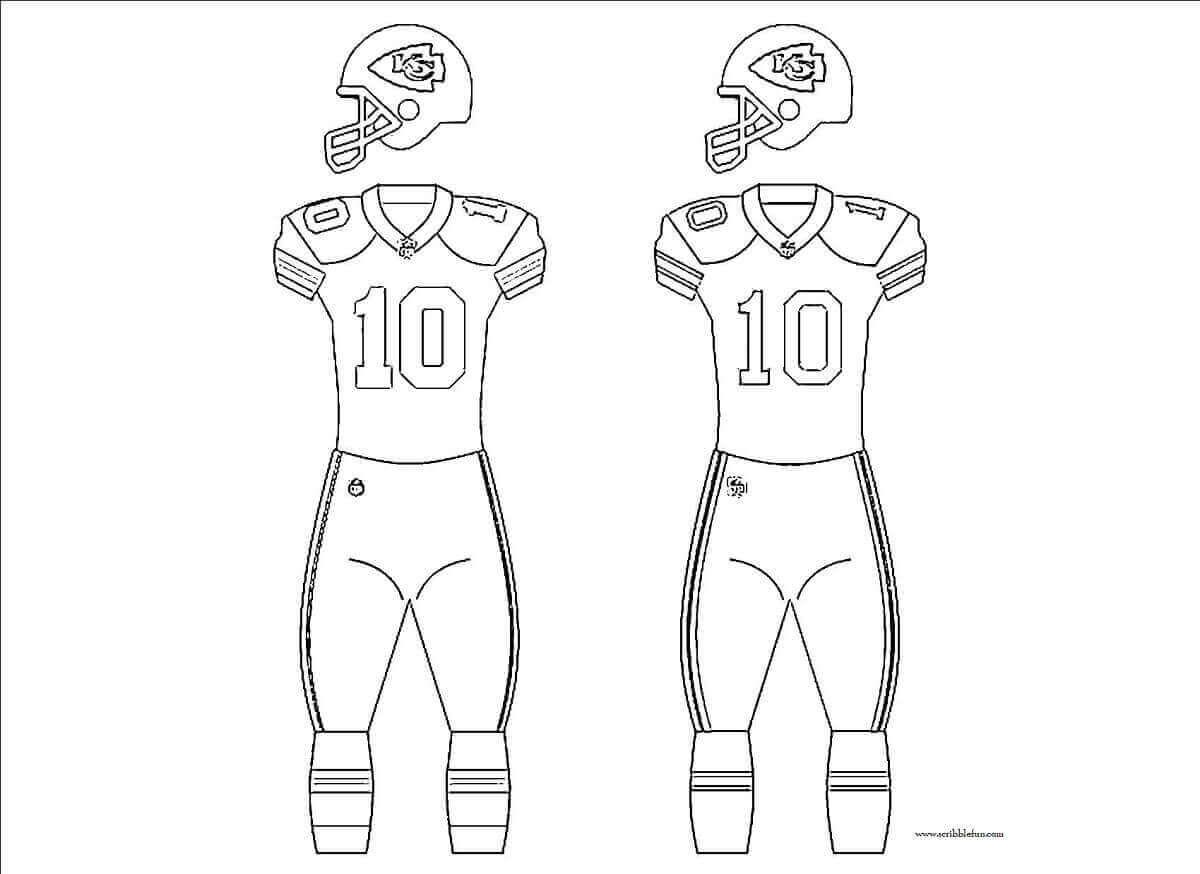 Kansas City Chiefs Uniform