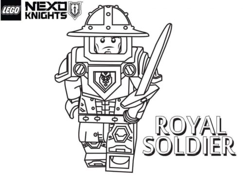 Lego Nexo Knights Royal Soldier