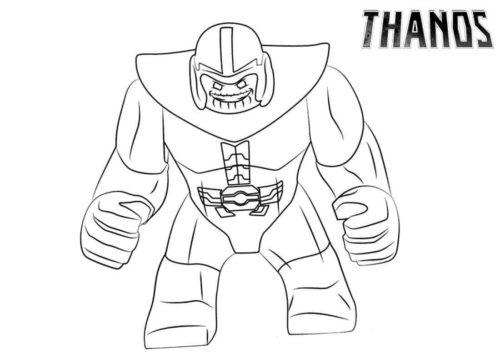 Lego Thanos