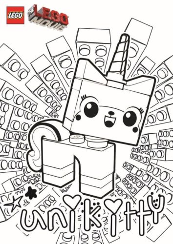 Unikitty From The Lego Movie