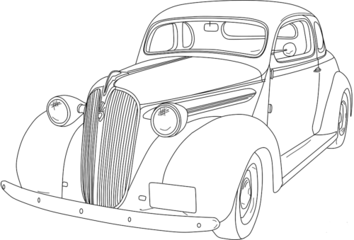 1930s Chevy Coupe