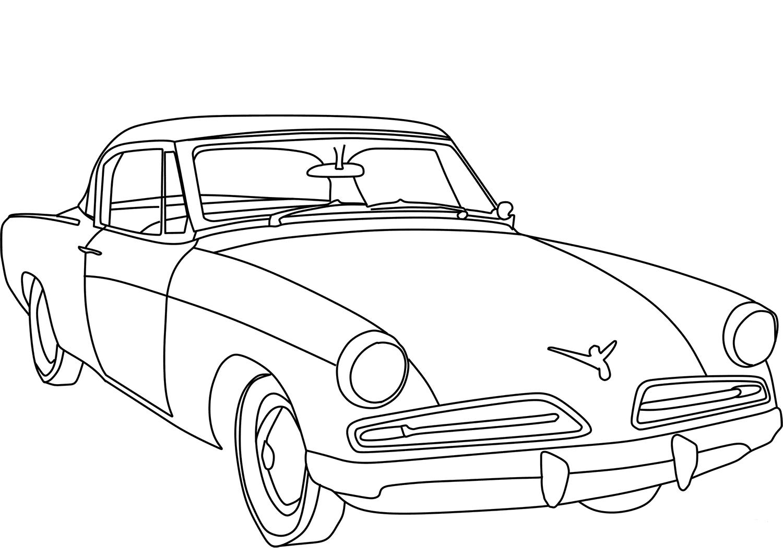 1954 Studebaker Commander Starlight Coupe