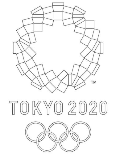 2020 Summer Olympics Tokyo Coloring Pages