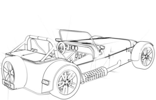 Convertible Coupé Concept Car