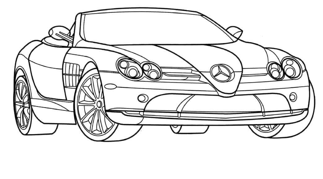 Mercedes Coloring Pages