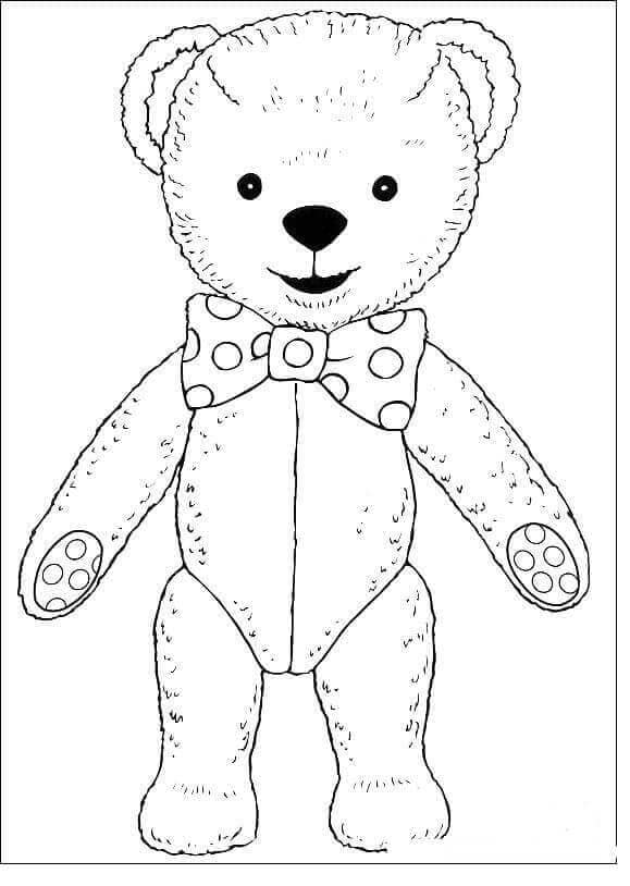 Naughty Teddy From Andy Pandy