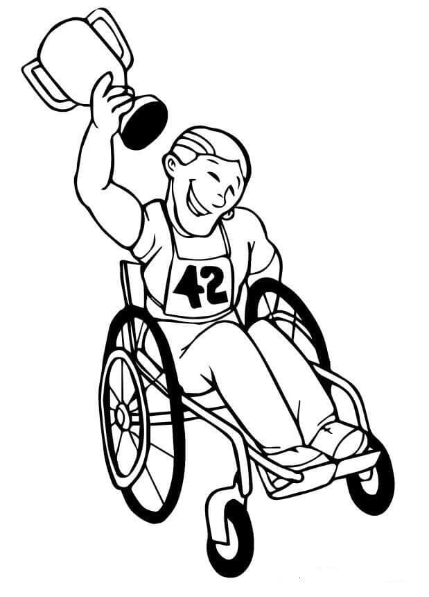 Paralympic Coloring Pages