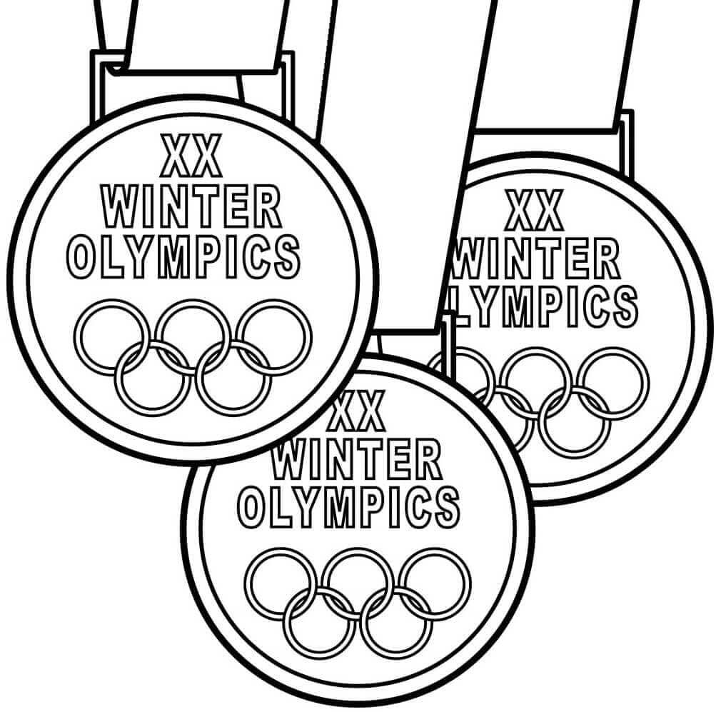 Winter Olympics Medals
