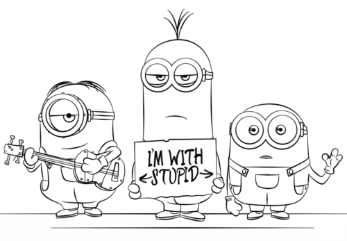 Minion Superhero Coloring Pages | Minion coloring pages, Superhero ... | 347x500