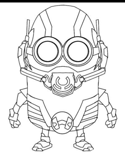 Minion As Ant Man