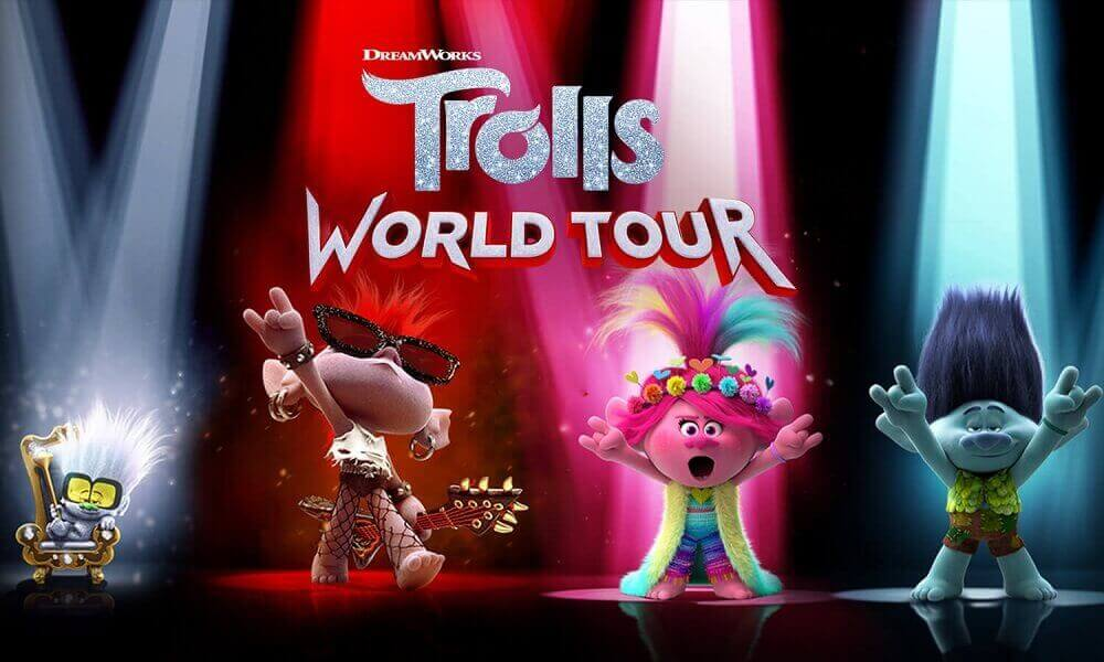 25 Free Printable Trolls World Tour Coloring Pages
