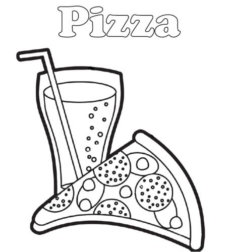 Pizza And Lemonade