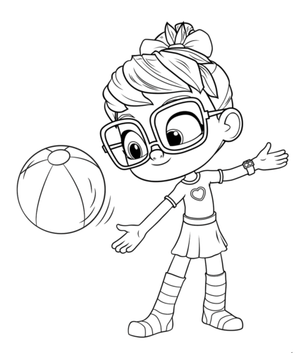 Abby Hatcher coloring pages printable