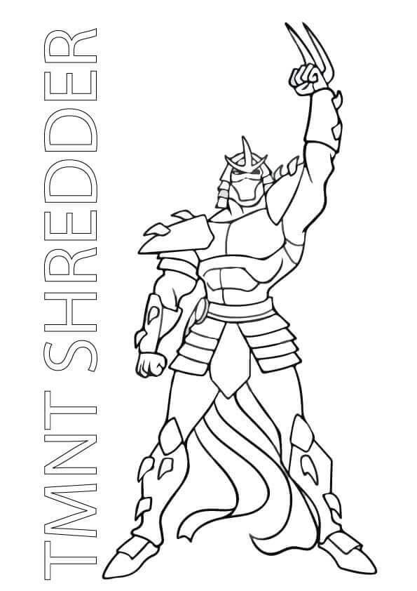 Shredder from Teenage Mutant Ninja Turtles