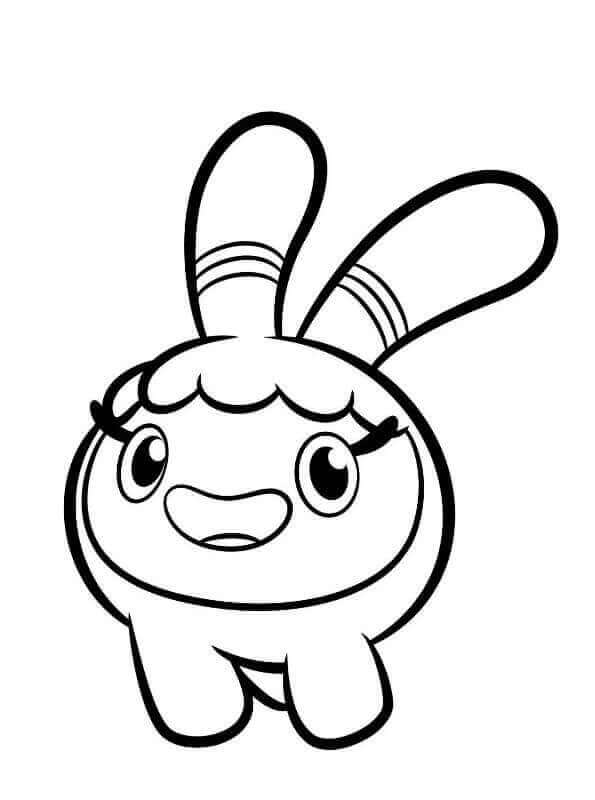 Squeaky Peeper Do from Abby Hatcher coloring sheet