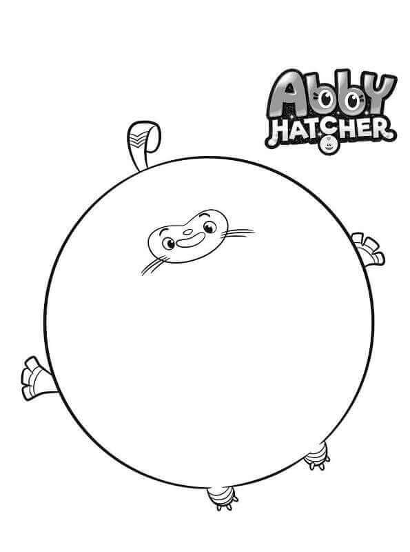Teeny Terry coloring page