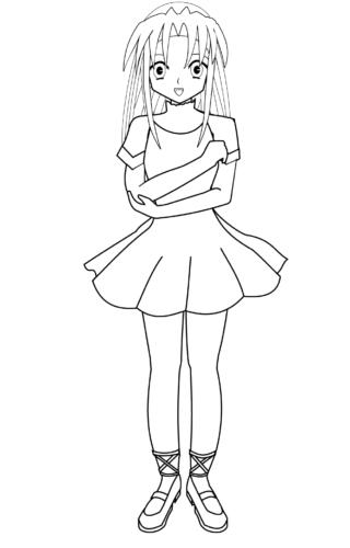 Anime Ballerina