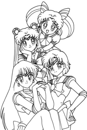Sailor Moon girls