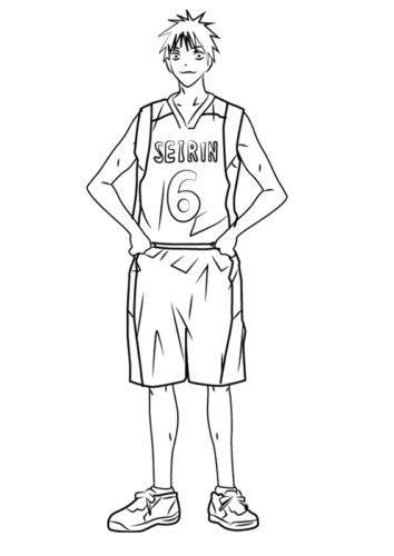 Shinji Koganei from Kuroko Basketball