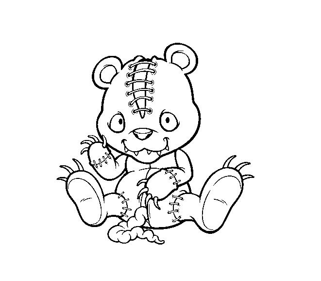 Horrific Teddy Bear