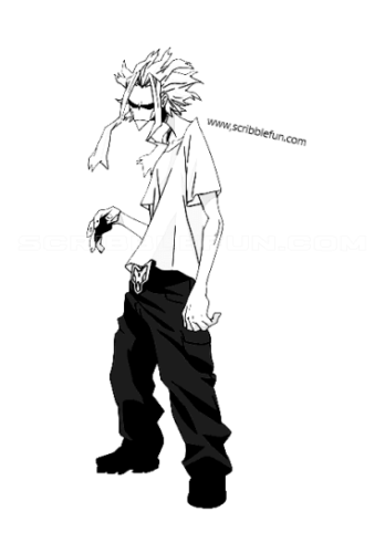 Toshinori Yagi from My Hero Academia