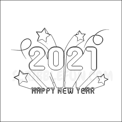 2021 coloring pages printable