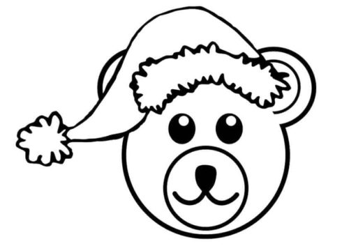 Bear wishing you Christmas