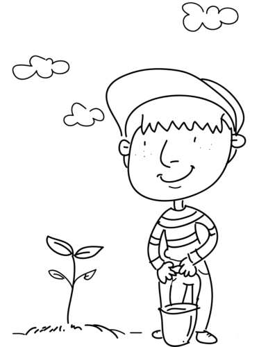 Free printable leaves coloring pages