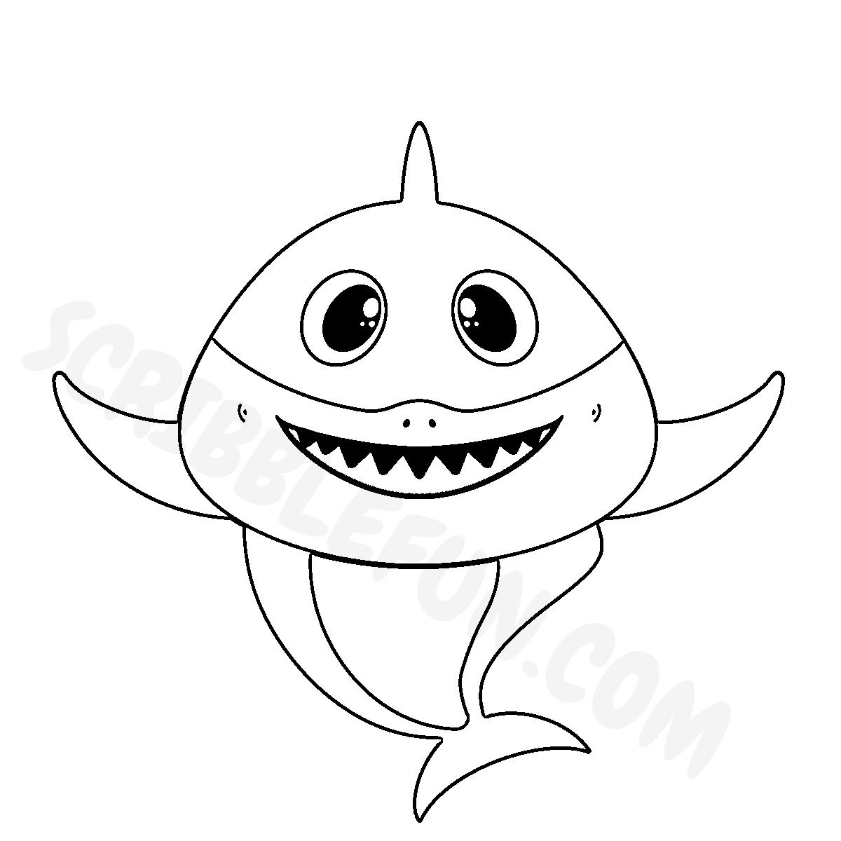 Mommy Shark from Baby Shark song