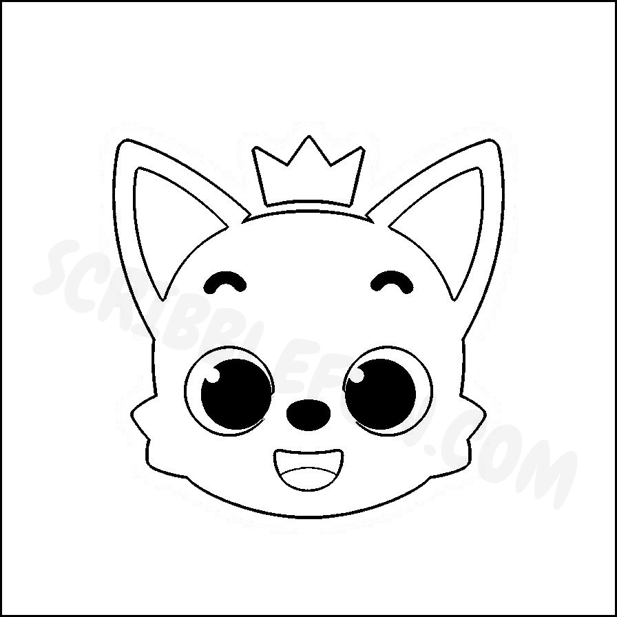 Pinkfong coloring page
