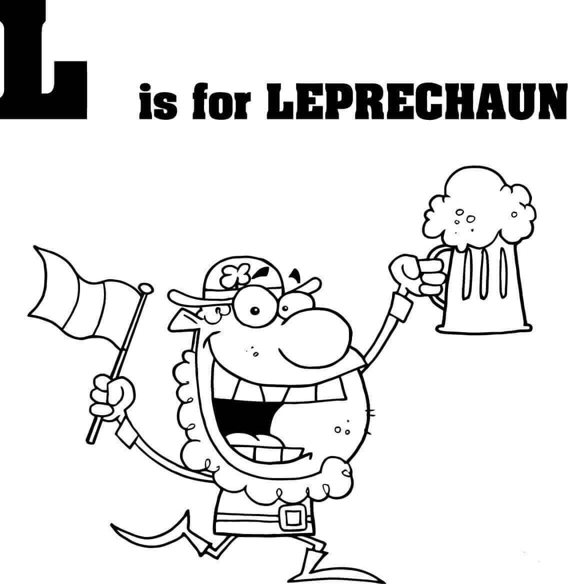 Letter L is for Leprechaun