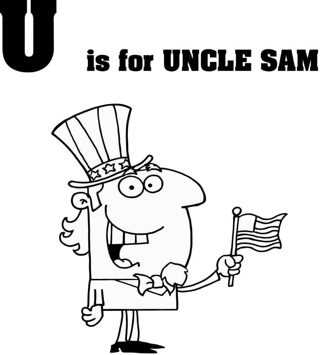 U is for Uncle Sam