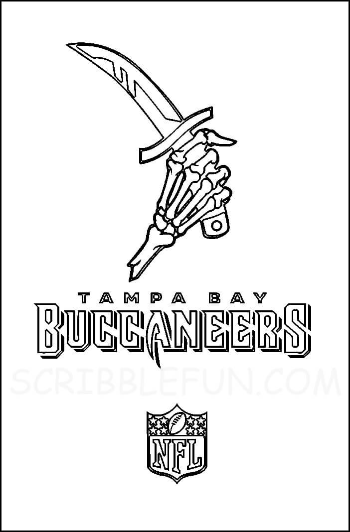 Bucs coloring pages printable