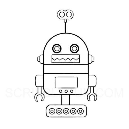 Cheerful robot
