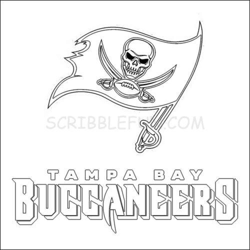 Tampa Bay Buccaneers coloring pages printable