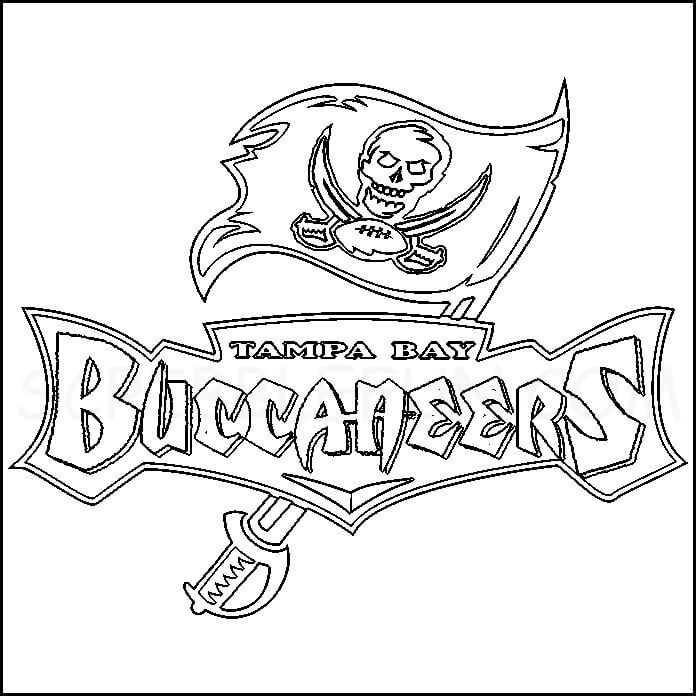 Tampa Bay Buccaneers coloring pages