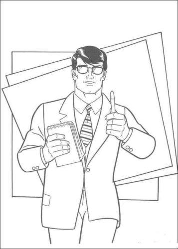 Clark Kent the journalist