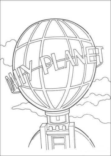 My Planet coloring page