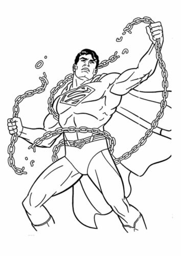 Superman Breaking The Chains