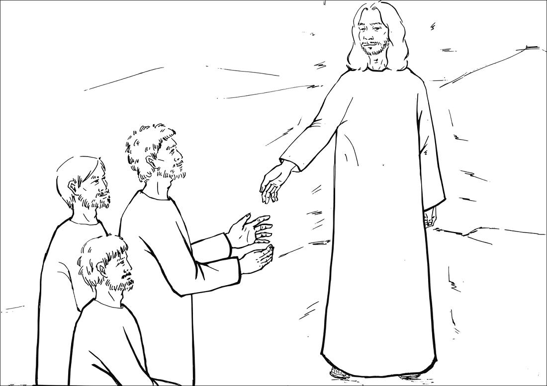 Jesus Face Shone like the Sun