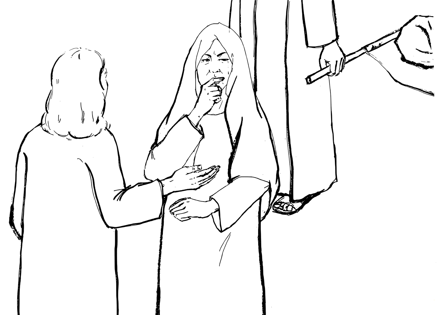 Jesus and the story of the Widow