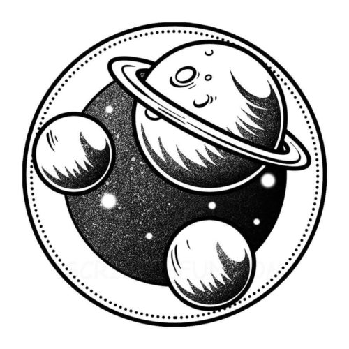 Planets coloring pages printable