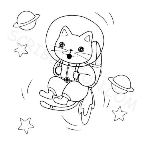 Kitty Astronaut